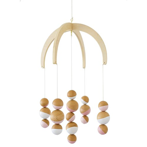 (Petunia Pickle Bottom Dreaming in Dax Wooden Ceiling Mobile)