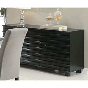 Coaster Stanton Contemporary Buffet Server in Black Finish