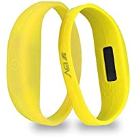 2-Pack BV LED Safety Bracelets for Running & Activity