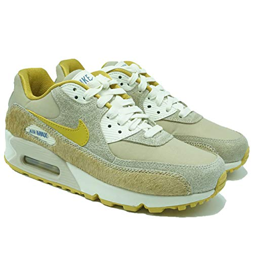 premium selection 0939e 25644 Nike Women's Air Max 90 Wheat Gold-Sail Ficelle AT4968-200 (Size: 7.5)