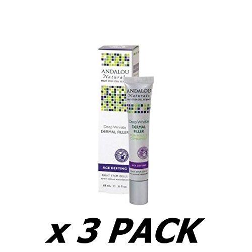 Andalou Deep Wrinkle Dermal Filler 18 ML (Pack of 3)
