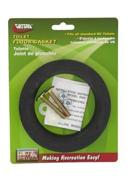 VALTERRA  Q23653VP RV Trailer Camper Water Saver Toilet Floor Gasket with Hold Down (1)