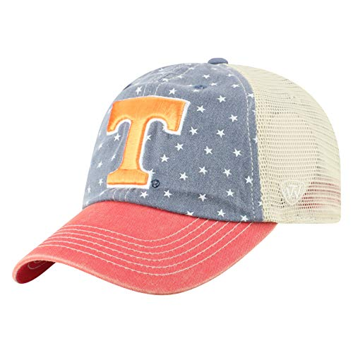 Top of the World Tennessee Volunteers Men's Hat Icon, Navy, -