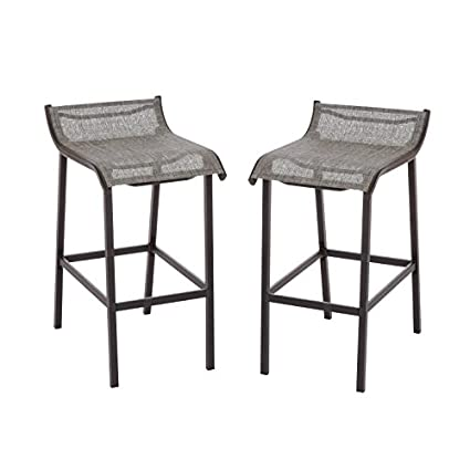 Charmant Living Accents Grill Gazebo Bar Stool(Pack Of 2)