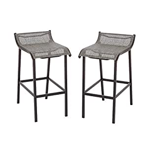Living accents grill gazebo bar stool pack of for Living accents patio furniture