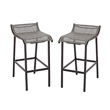 Living Accents Grill Gazebo Bar Stool(Pack Of 2)