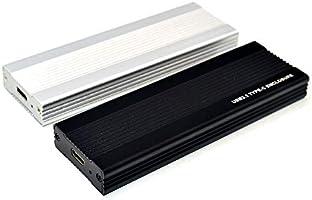 Jarhit Carcasa HDD NVME M.2 Carcasa HDD de Aluminio Completa USB3.1 Tipo C a Caja de HDD MóVil NVME Carcasa SSD M.2 RTL9210 Carcasa (Negro): Amazon.es: Electrónica