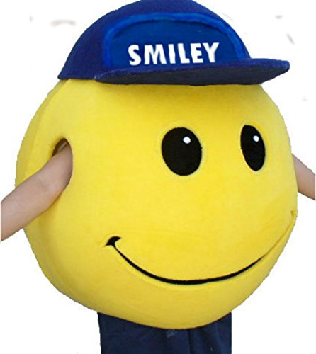 Mascots USA by CJs Huggables Custom Pro Low Cost Smiley Face Mascot Costume (Mascot Snowman Costume)