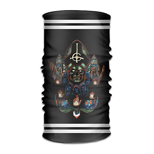 [EDRE Popestar-Ghost B.C. Multifunctional Magic Collars Muffler] (Tarzan Costume Accessories)