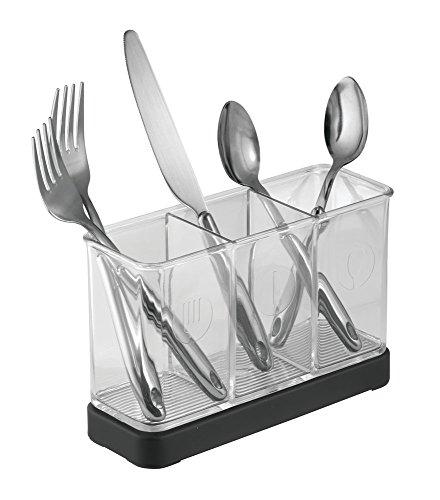 MDesign Halter Für Teigschaber, Besteck, Utensilien Für Die Küchenablage    Mattschwarz/Durchsichtig U2022 Küchenausstattung U0026 Küchenzubehör Shop