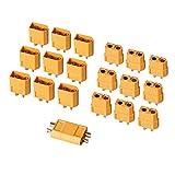 AUTOUTLET 20PCS 10Pairs XT60 Bullet Connectors Plugs Male & Female for RC Car/Boat/LiPo