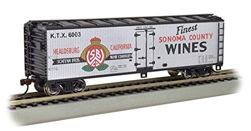 Ho Sonoma County Wines - 40' Wood-side Refrig Box Car
