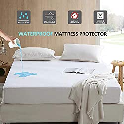 related image of Maple Down Mattress Protector, Queen Size, 100