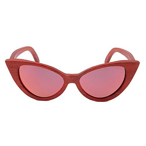 pour de Yeux extérieure UV Main et Lunettes Convient Protection Rouge Femmes Couleur Gububi Rouge pour Polyvalent Chat Utilisation Couleur Sexy Lady Hommes Soleil Une la quotid à Lunettes Zqvt8wB