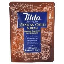 Tilda Mexican Chilli & Bean Basmati Rice 250G