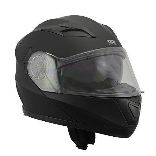Milwaukee Performance Helmets Men's full face helmet (MAT BLACK, XL)