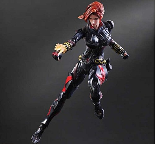 Hot Toys Black Widow Toy Movie Captain America Play Arts Kai Natasha Romanoff 26cm With Box