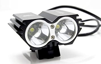 5000 Lumen 2x CREE XML U2 LED Cycling Bicycle Bike Light L& HeadLight Headl&  sc 1 st  Amazon.com & Amazon.com : 5000 Lumen 2x CREE XML U2 LED Cycling Bicycle Bike ... azcodes.com