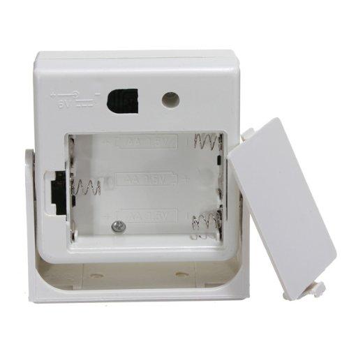 Timbre inalámbrico alarma bienvenida timbre con Sensor de movimiento Detector F tienda Store burrda: Amazon.es: Iluminación