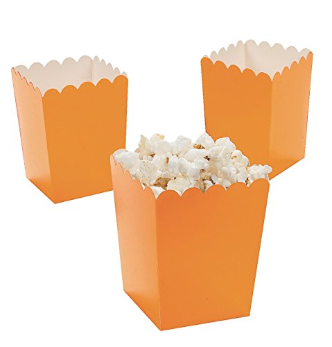 Mini Popcorn Boxes Resources Birthday