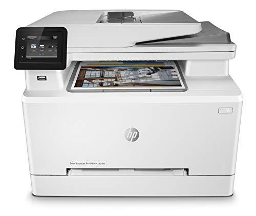 HP Color LaserJet Pro M282nw Multifunktions-Farblaserdrucker (Drucker, Scanner, Kopierer, WLAN, LAN, Airprint) weiß
