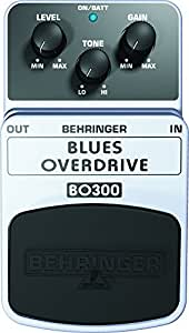 Behringer BO300 Blues Overdrive Classic Overdrive Effects Pedal