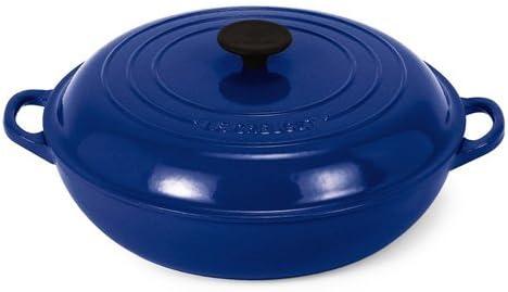 Le Creuset Enameled Cast Iron 5 Quart Buffet Casserole Cobalt