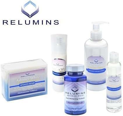 Authentic Relumins Advanced Whitening Intensive Repair Night Set