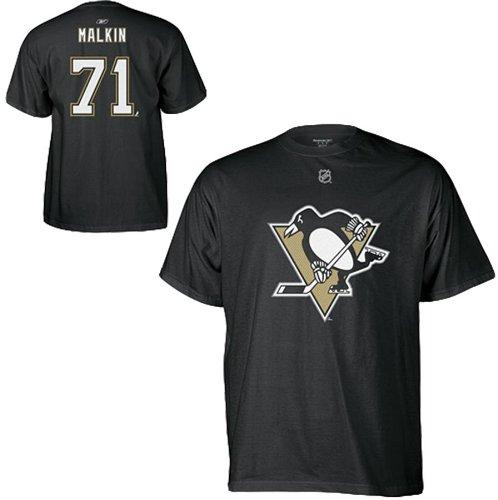 高級素材使用ブランド Evgeni Malkin Pittsburgh Penguinsブラックリーボック大人用Gametime Twill Player Twill Tシャツ Tシャツ 3L B00BFT9MN6 B00BFT9MN6, トイショップ まのあ:24a82080 --- a0267596.xsph.ru
