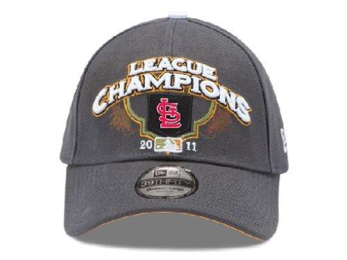 MLB St Louis Cardinals 39/thirty 2011 cardinals New Era Cap Hat Locker Room National League Champions