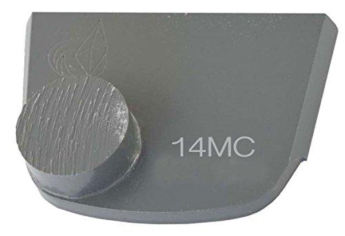Lavina X1B-MC-0014 Diamond Medium Metal Bond for Medium Concrete 14 Grit Single Button Segment