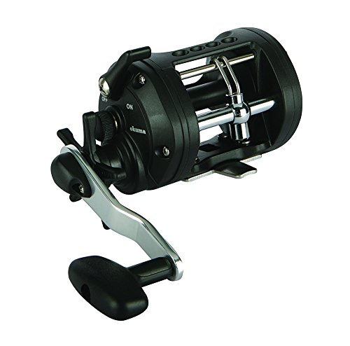 Okuma Fishing Tackle Classic Graphite Trolling Reel