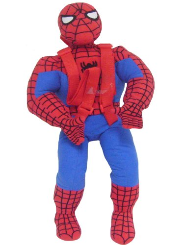 Fast Forward Boys 2-7 Spiderman Shaped Plush, Red, One Size, Baby & Kids Zone