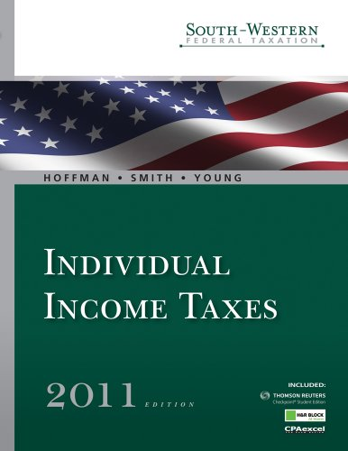South-Western Federal Taxation 2011: Individual Income Taxes (with H&R Block @ Home Tax Preparation Software CD-ROM, RIA Checkpoint & CPAexcel 1-Semester Printed Access Card) (Available Titles Aplia)