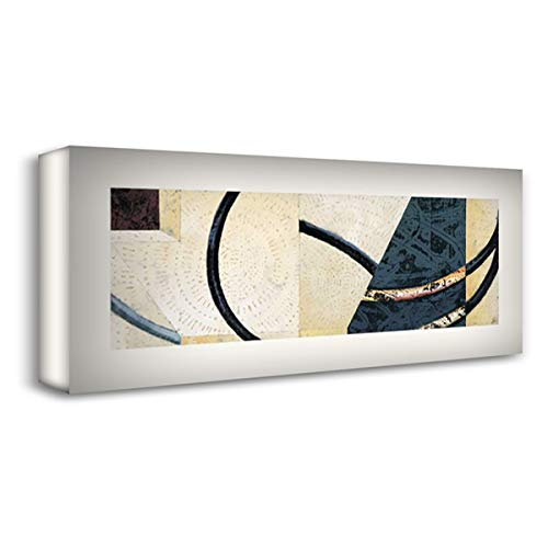 Line and Verse #II9 22x11 Gallery Wrapped Stretched Canvas Art by Holland, Cynthia