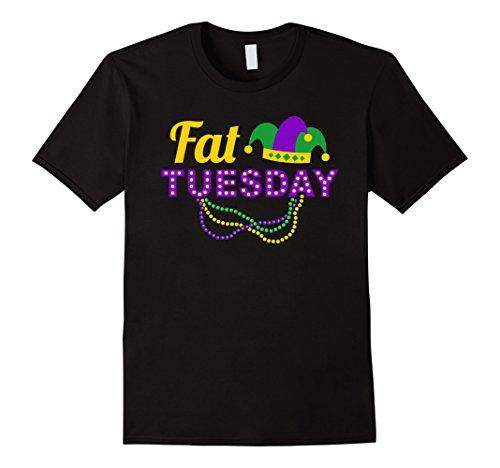 Fat Tuesday Mardi Gras Umbrella 2018 Festival T-Shirt