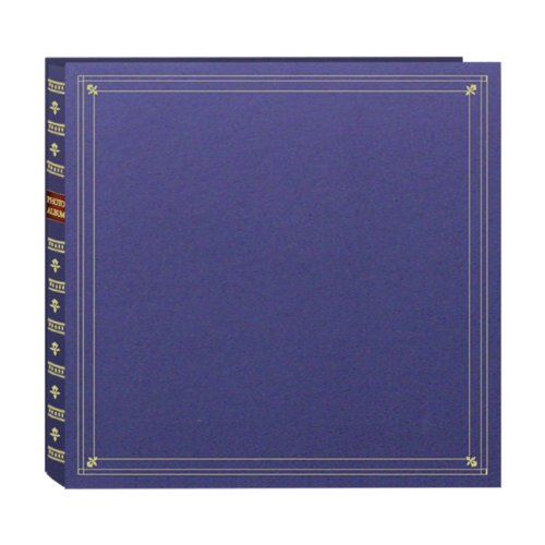 Pioneer Photo Albums 300-Pocket Post Bound Leatherette Cover Photo Album for 3.5 by 5.25-Inch Prints, Bay Blue