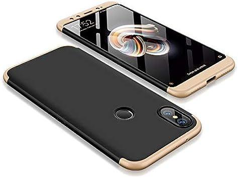 AROYI Funda Xiaomi Mi A2, Carcasa Xiaomi Mi A2 360 Grado 3 in 1 ...