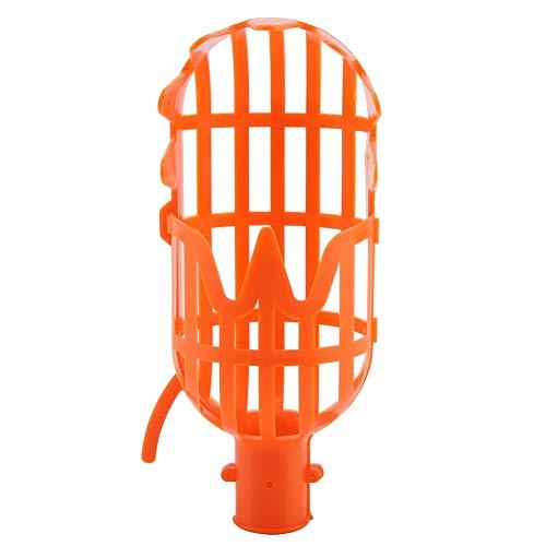 Herramienta de jard/ín Fdit Cesta recogedora de Frutas orqu/ídea de pl/ástico para Recoger Naranjas y Aguacate de Manzana Dispositivo de Recogida