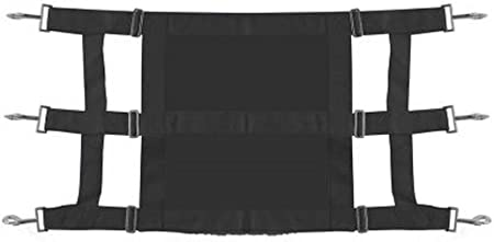Showman Solid Front Heavy Duty Webbed Nylon Stall Guard Adjusts from 36-48/""