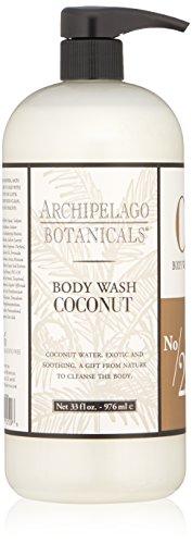 Archipelago Botanicals Coconut Wash for Body 33 Fl. Oz.