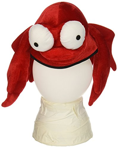 [Plush Crab Hat Party Accessory (1 count) (1/Pkg)] (Crab Costumes)