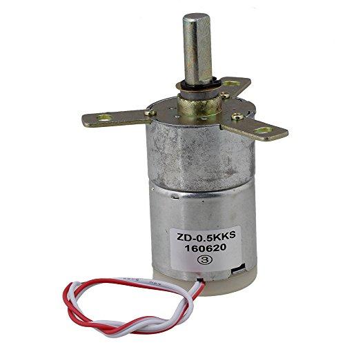 Bqlzr High Torque 12v Dc 25 Rpm Gear Box Stabilivolt