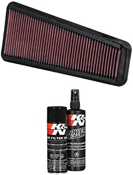 Fits Toyota FJ Cruiser 2007-2009 4.0L K/&N High Flow Replacement Air Filter