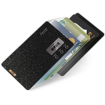 Image of FuzeCard | Card-shaped digital minimalist wallet for men | Card holder wallet | 0.03 inch ultra slim | Consolidate all your magnetic stripe & barcode card | NOT SUPPORTS STORING EMV IC CHIP CARD.