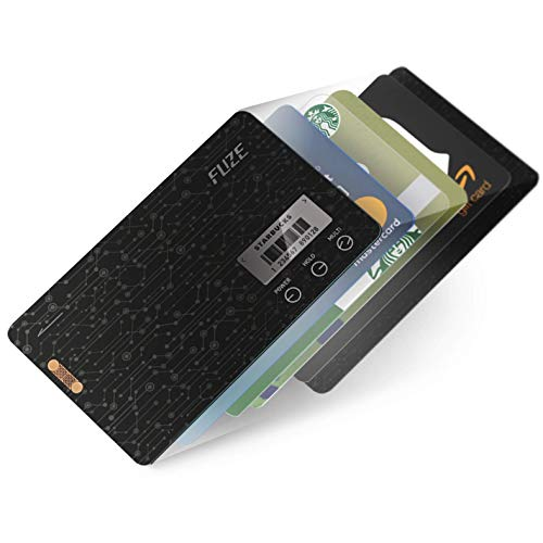 FuzeCard | Card-shaped digital minimalist wallet for men | Card holder wallet | 0.03 inch ultra slim | Consolidate all your magnetic stripe & barcode card | NOT SUPPORTS STORING EMV IC CHIP CARD. (Best Credit Card With Chip)