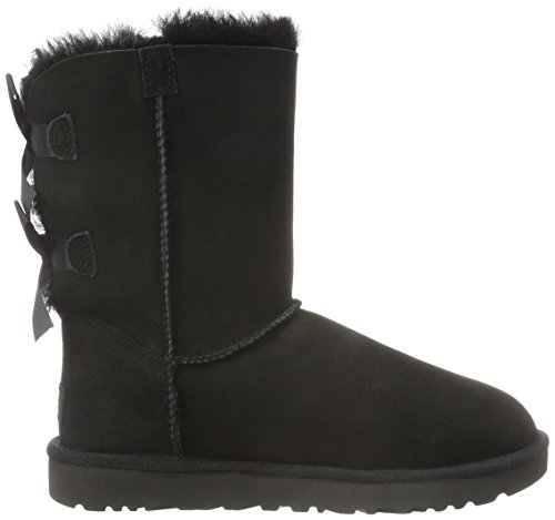UGG Women's Bailey Bow II Winter Boot, Black, 8 B US by UGG (Image #6)