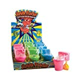 KIDSMANIA SOUR FLUSH ASSORTED FLAVOR CANDY 1.38 oz Each ( 12 in a Pack )
