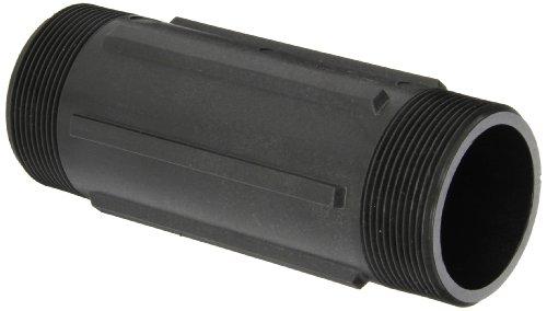 Banjo NIP200-6 Polypropylene Pipe Fitting, Nipple, Schedule 80, 2 NPT Male x 6 Length