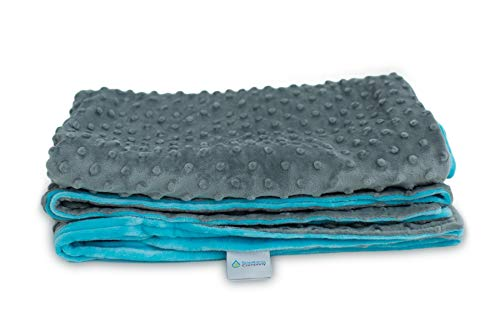 """Soothing Company Minky Duvet Cover for Child Weighted Blanket 